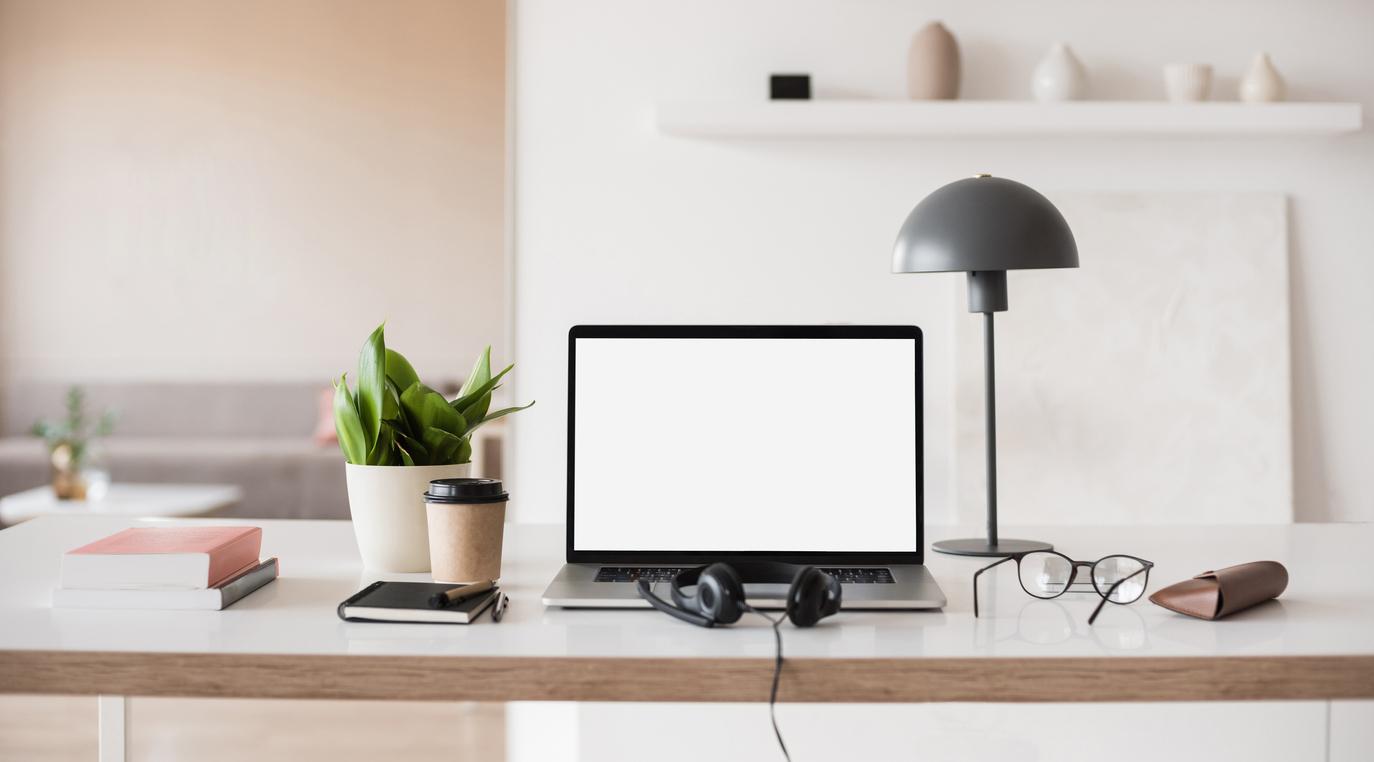 Indretning af hjemmekontor - med ergonomi og arbejdsglæde i fokus